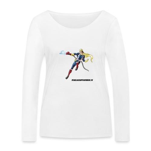 Captain Firefighter - Frauen Bio-Langarmshirt von Stanley & Stella