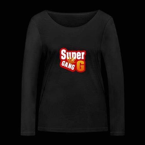 SuperG-Gang - Økologisk Stanley & Stella langærmet T-shirt til damer