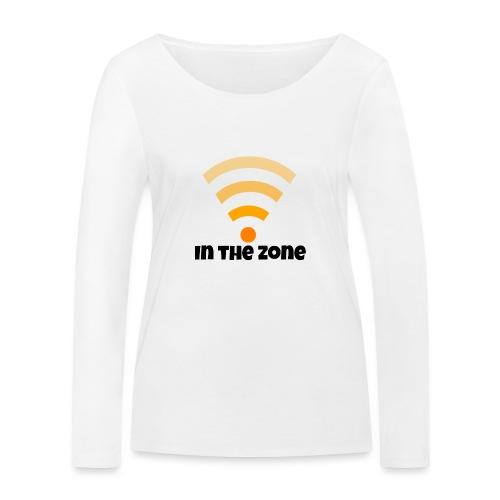 In the zone women - Vrouwen bio shirt met lange mouwen van Stanley & Stella