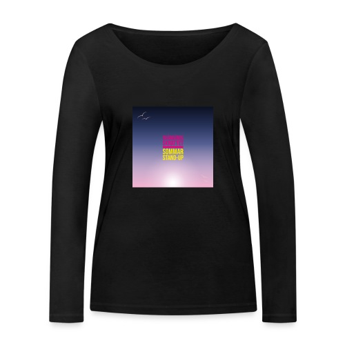 T-shirt dam Skärgårdsskrattet - Ekologisk långärmad T-shirt dam från Stanley & Stella