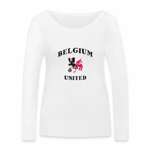 Belgium Unit - Women's Organic Longsleeve Shirt by Stanley & Stella