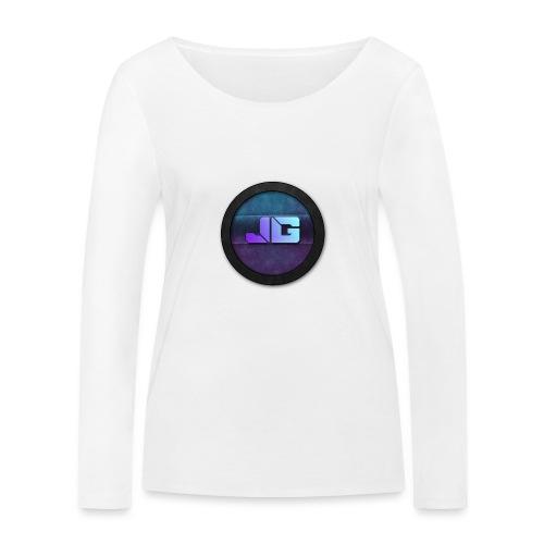 Trui met logo - Vrouwen bio shirt met lange mouwen van Stanley & Stella