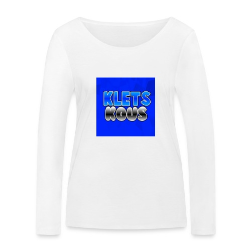 Kletskous Muismat - Vrouwen bio shirt met lange mouwen van Stanley & Stella