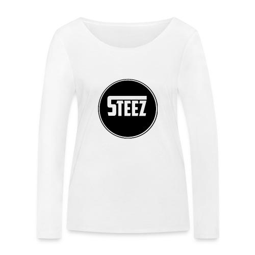 Steez t-Shirt black - Vrouwen bio shirt met lange mouwen van Stanley & Stella