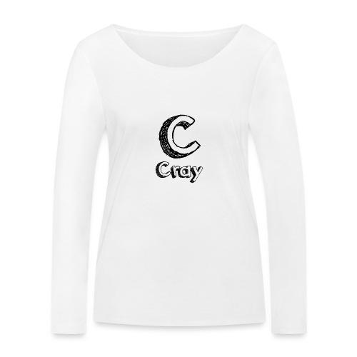 Cray Anstecker - Frauen Bio-Langarmshirt von Stanley & Stella