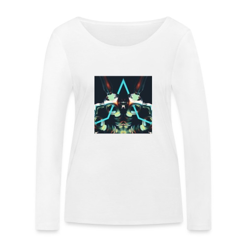 Energize Fields by RNZO - Vrouwen bio shirt met lange mouwen van Stanley & Stella