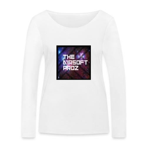 TheAirsoftProz Galaxy Mens Long Sleeve - Women's Organic Longsleeve Shirt by Stanley & Stella