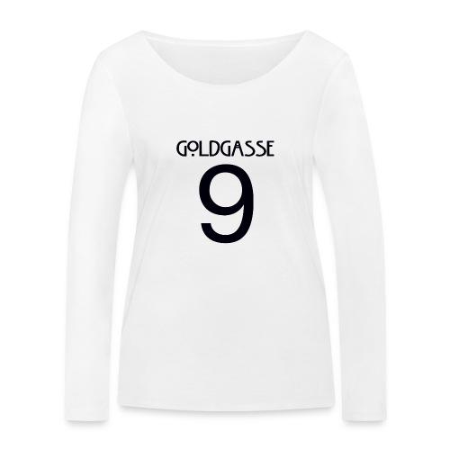 Goldgasse 9 - Back - Women's Organic Longsleeve Shirt by Stanley & Stella