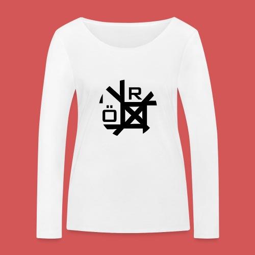 Nörthstat Group™ TecH | iCon - WHT.Knapsack - Women's Organic Longsleeve Shirt by Stanley & Stella