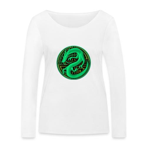 logo mic03 the gamer - Maglietta a manica lunga ecologica da donna di Stanley & Stella