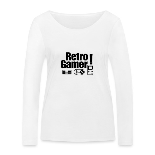 Retro Gamer! - Women's Organic Longsleeve Shirt by Stanley & Stella