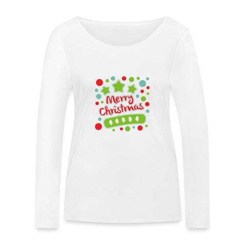 Merry Christmas - Women's Organic Longsleeve Shirt by Stanley & Stella