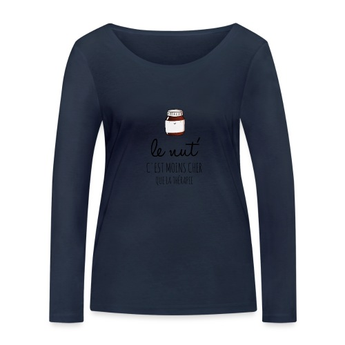 Le Nut' - T-shirt manches longues bio Stanley & Stella Femme