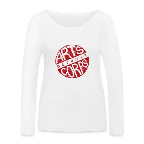Art Corps Detroit - T-shirt manches longues bio Stanley & Stella Femme