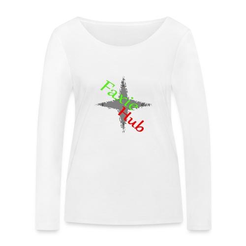 FaxieHub - Økologisk Stanley & Stella langærmet T-shirt til damer