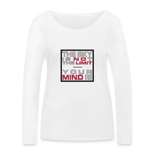 No Limit Mind - Frauen Bio-Langarmshirt von Stanley & Stella