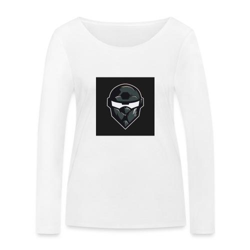 LogoMain2 - Økologisk Stanley & Stella langærmet T-shirt til damer
