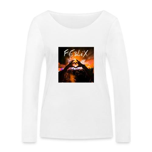 FE3LiX Logo. . g - Frauen Bio-Langarmshirt von Stanley & Stella