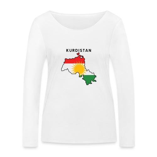 Kurdistan - Ekologisk långärmad T-shirt dam från Stanley & Stella