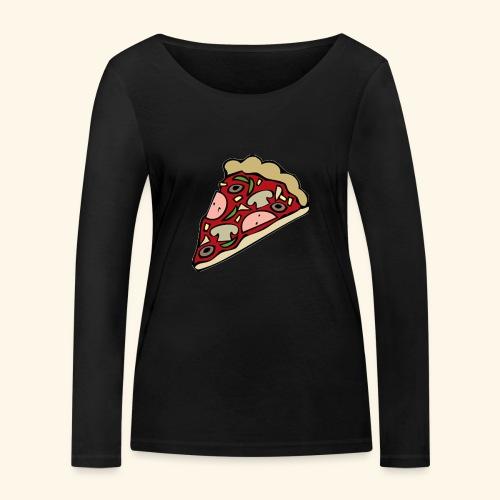 Pizza - T-shirt manches longues bio Stanley & Stella Femme