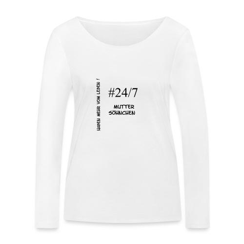 Muttersöhnchen - Frauen Bio-Langarmshirt von Stanley & Stella