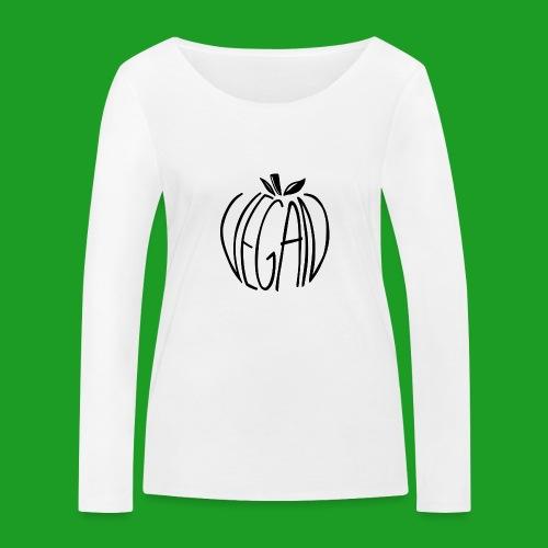 Vegan Apple - T-shirt manches longues bio Stanley & Stella Femme