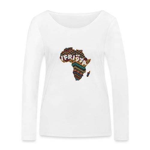 Africa - Ifriqya - T-shirt manches longues bio Stanley & Stella Femme