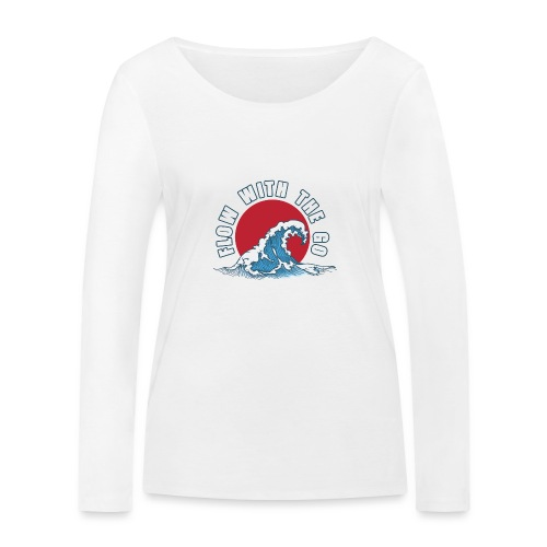 flow with the go - Ekologiczna koszulka damska z długim rękawem Stanley & Stella