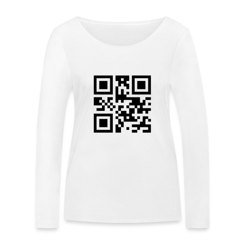 Sono Single QR Code - Maglietta a manica lunga ecologica da donna di Stanley & Stella
