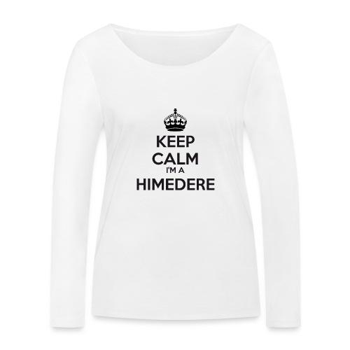 Himedere keep calm - Women's Organic Longsleeve Shirt by Stanley & Stella