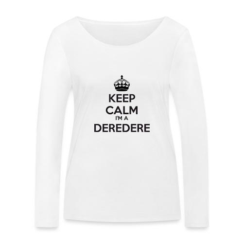 Deredere keep calm - Women's Organic Longsleeve Shirt by Stanley & Stella