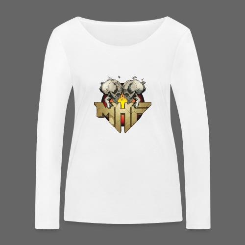new mhf logo - Women's Organic Longsleeve Shirt by Stanley & Stella