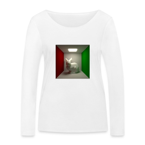 Bunny in a Box - Women's Organic Longsleeve Shirt by Stanley & Stella