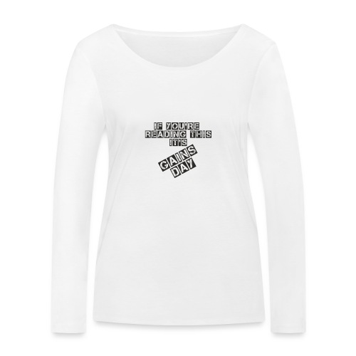 gainsday - Økologisk Stanley & Stella langærmet T-shirt til damer