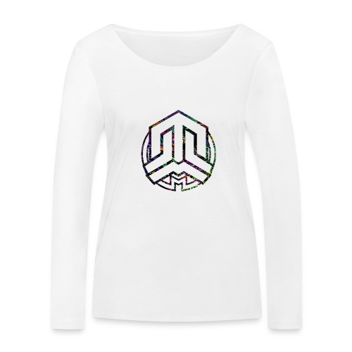 Cookie logo colors - Women's Organic Longsleeve Shirt by Stanley & Stella