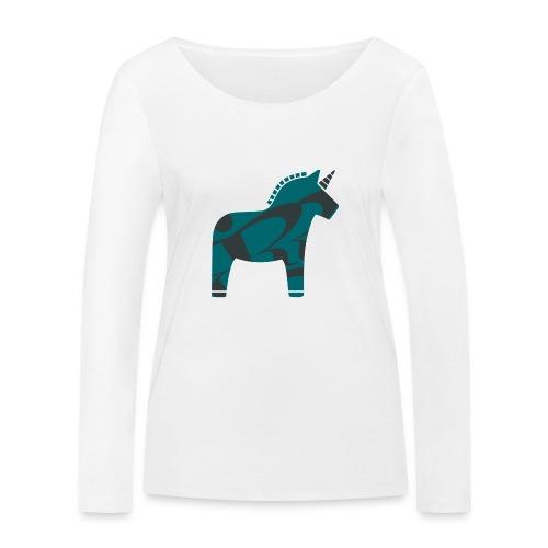 Swedish Unicorn - Frauen Bio-Langarmshirt von Stanley & Stella