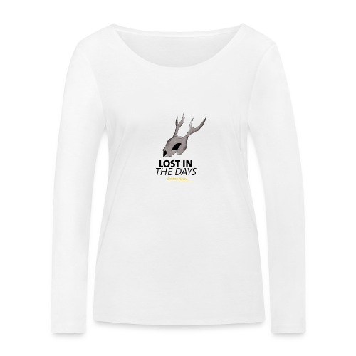 crane sky visu t shirt2 png - T-shirt manches longues bio Stanley & Stella Femme