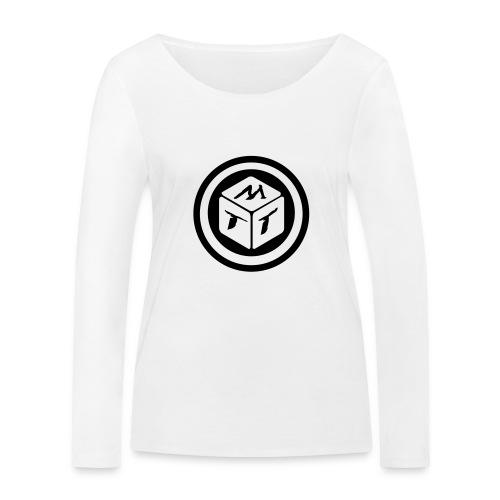 mb logo klein - Frauen Bio-Langarmshirt von Stanley & Stella