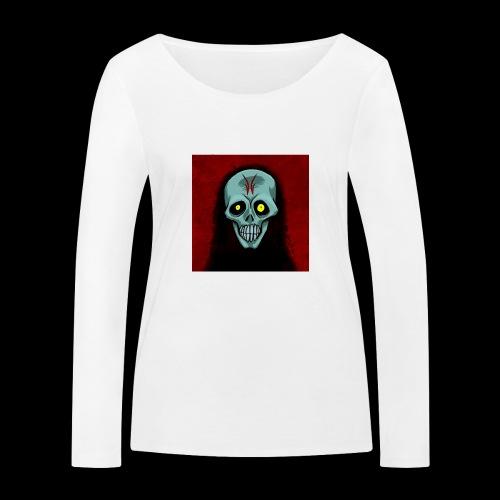Ghost skull - Women's Organic Longsleeve Shirt by Stanley & Stella