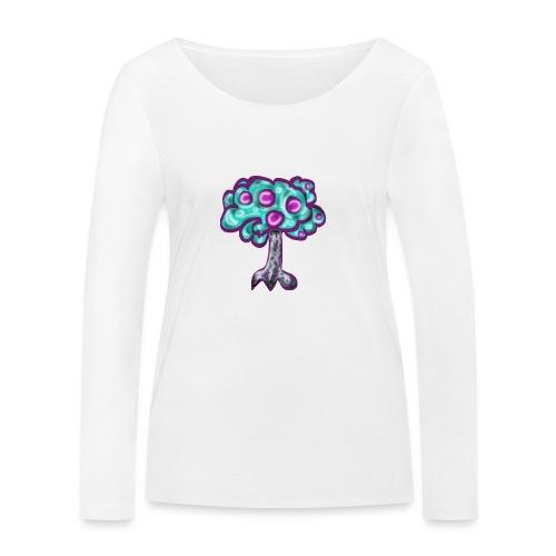 Neon Tree - Women's Organic Longsleeve Shirt by Stanley & Stella