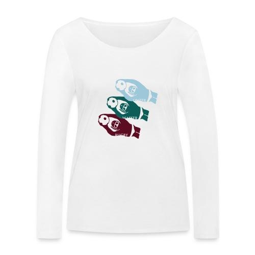 3 UWR-Spieler - Frauen Bio-Langarmshirt von Stanley & Stella