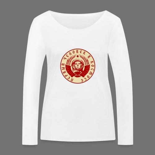 Cosmonaut 2c - Women's Organic Longsleeve Shirt by Stanley & Stella