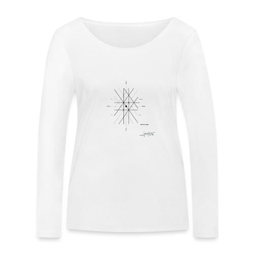 mathematique du centre_de_lunivers - T-shirt manches longues bio Stanley & Stella Femme