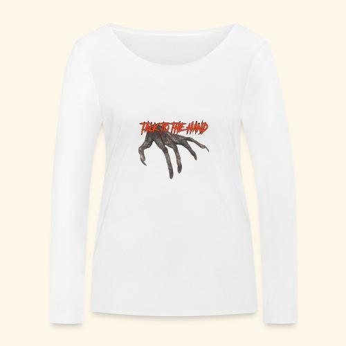 Talk To The Hand - Vrouwen bio shirt met lange mouwen van Stanley & Stella