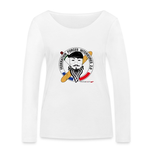 FFi Anonymous - T-shirt manches longues bio Stanley & Stella Femme