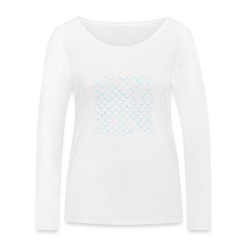 Mermaid scales - T-shirt manches longues bio Stanley & Stella Femme
