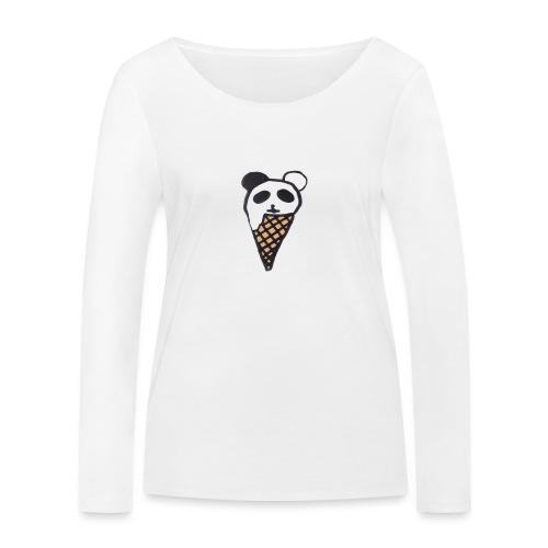 Petit Panda - T-shirt manches longues bio Stanley & Stella Femme