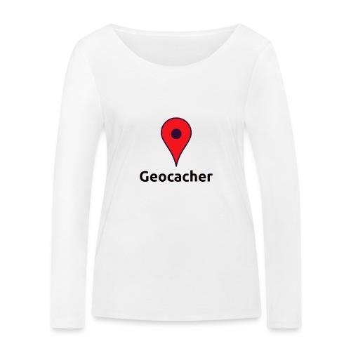 Geocacher - Frauen Bio-Langarmshirt von Stanley & Stella