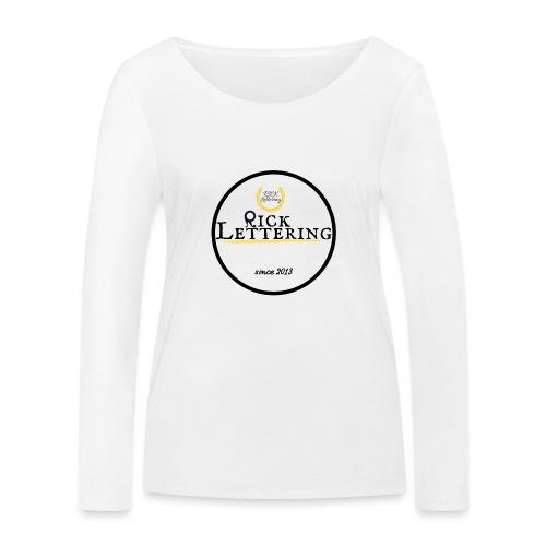 Rick Lettering - Frauen Bio-Langarmshirt von Stanley & Stella