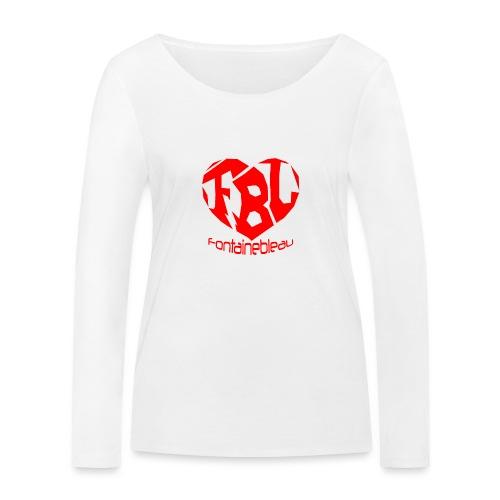 Coeur de Fontainebleau - T-shirt manches longues bio Stanley & Stella Femme